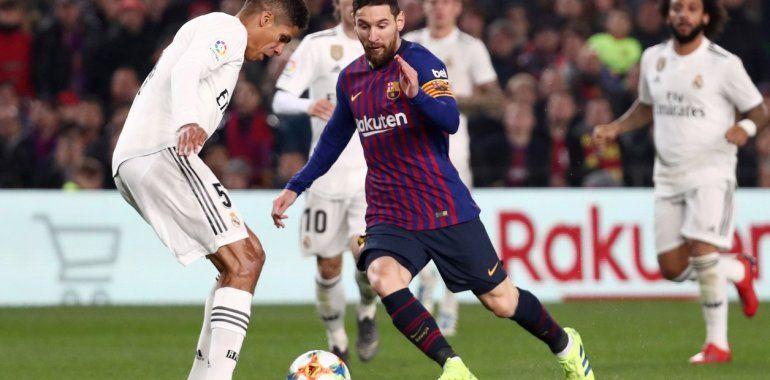 Barcelona empató el clásico con poco fútbol y un rato de Messi