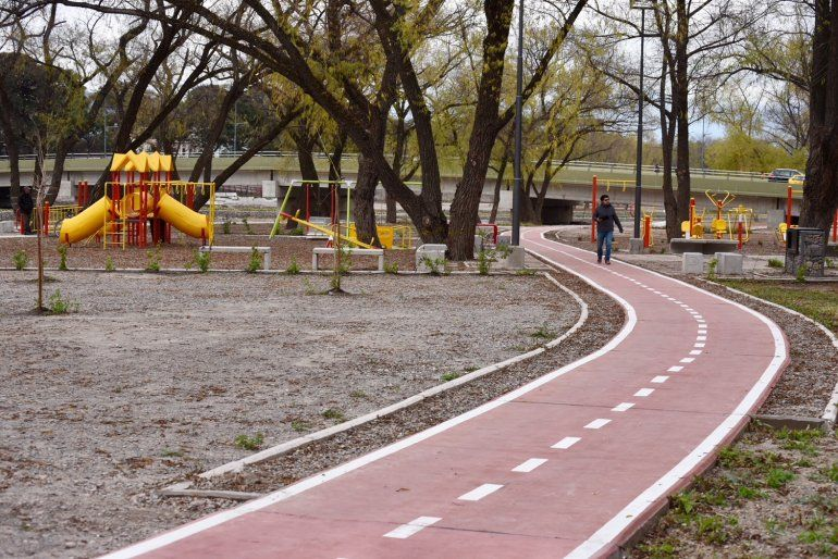 Habilitaron el Parque Xibi Xibi y el acceso por el badén de calle Brown