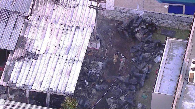 Tragedia en Brasil: mueren 10 chicos de las inferiores del Flamengo en un incendio