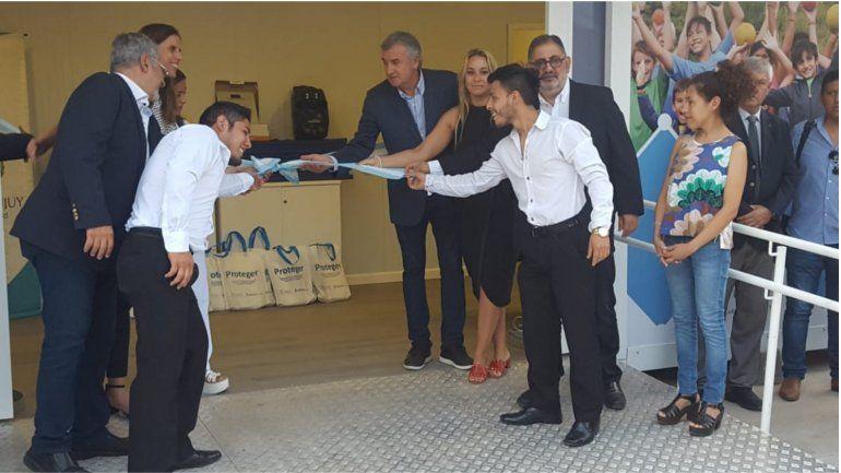 Inauguraron la primera Estación saludable sobre avenida Yrigoyen