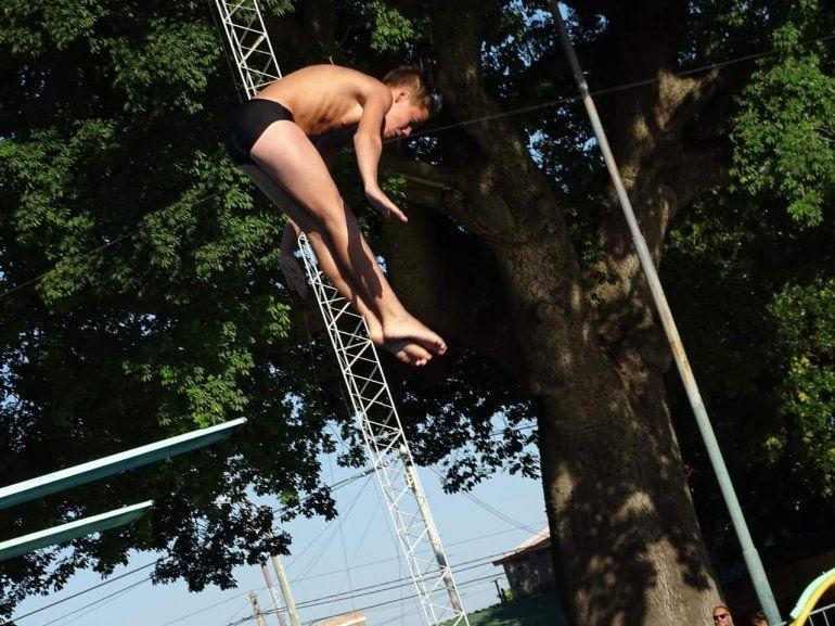 La delegación jujeña picó alto en el Torneo Nacional de saltos ornamentales