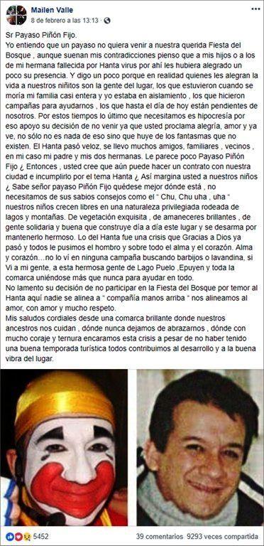 ¡Se develó el misterio! Publicaron una foto de Piñón Fijo sin maquillaje