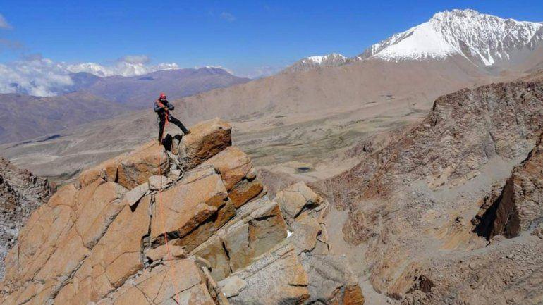 Aguja Bicentenario, una de las cumbres del imponente Cerro Chañi