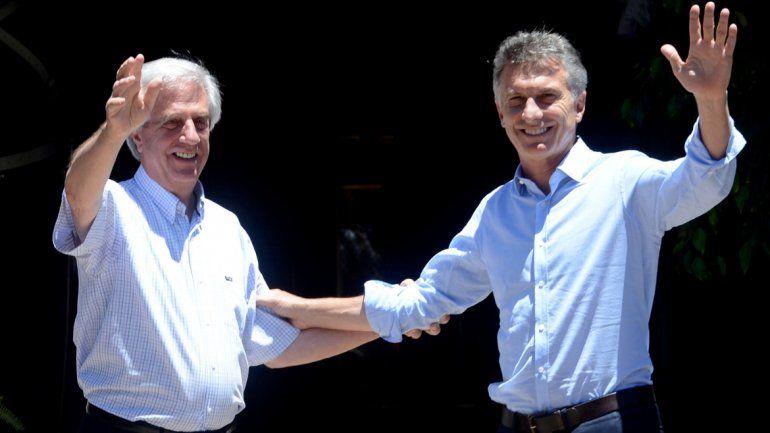 Macri viajará a Uruguay para discutir la posición de Tabaré Vázquez sobre Venezuela