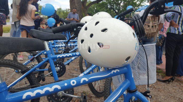 Ya están disponibles las ecobicis para usar en el Parque Xibi Xibi