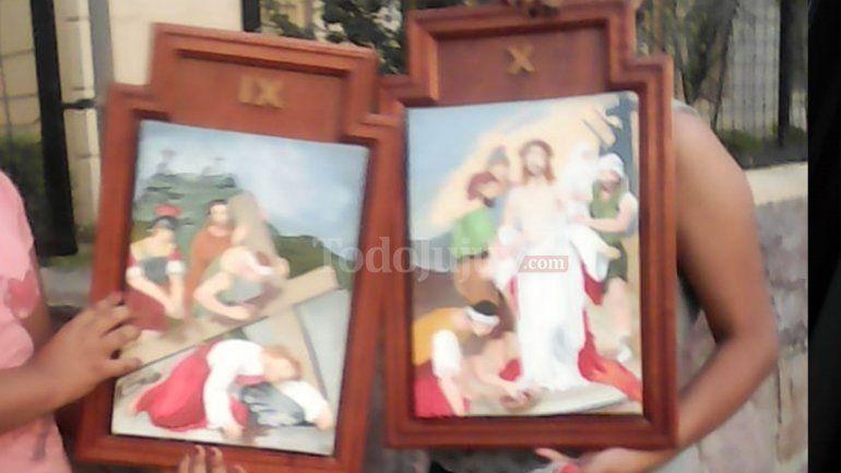 Recuperaron las imágenes robadas en la parroquia San Pedro y San Pablo