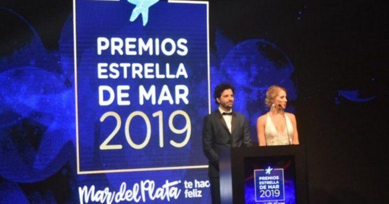 Mirá quienes fueron los grandes ganadores de los premios Estrellas de Mar
