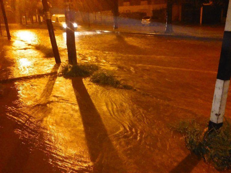 Volvió la luz a la mayoría de las zonas afectadas por el temporal de anoche