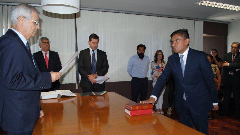 Diego Puca asumió como juez de primera instancia Civil y Comercial