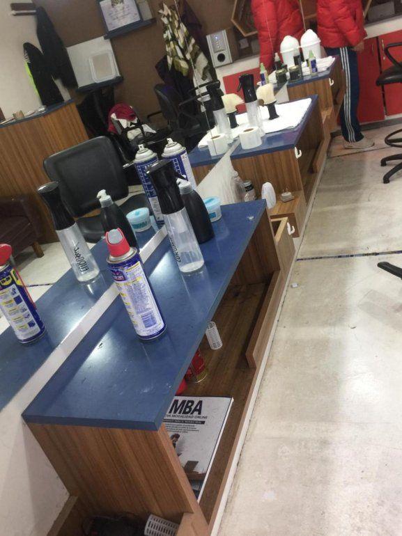 Robaron elementos por $150 mil en una peluquería de Ciudad de Nieva