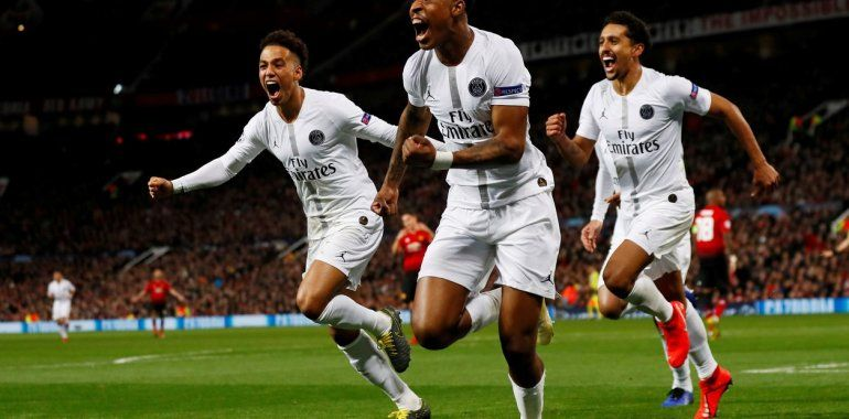 El PSG de Di María sorprendió a Manchester United y frenó su impresionante marcha