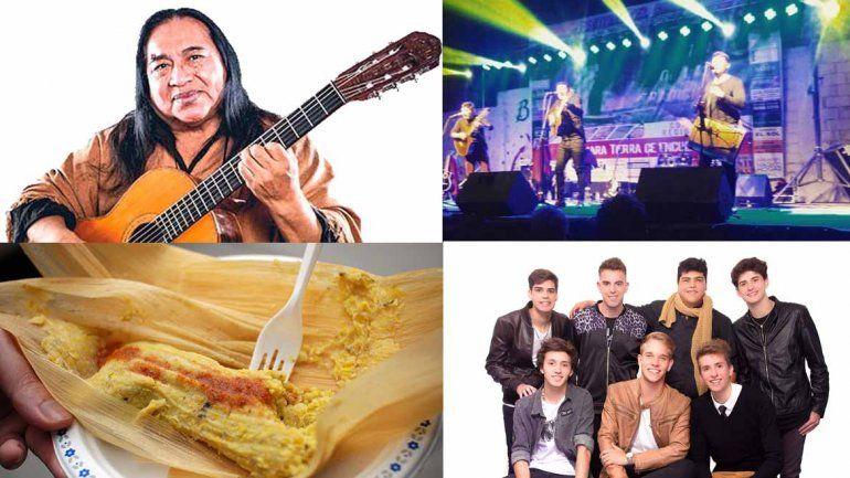 Festival del Choclo y el folklore en Maimará: música y comidas regionales