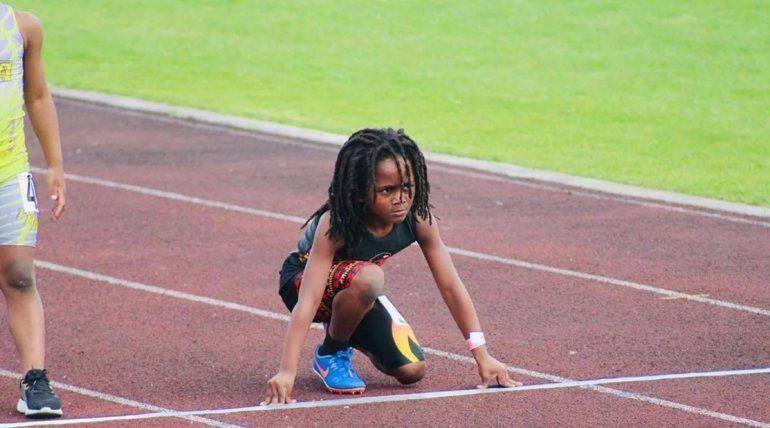 De otro planeta: con tan solo 7 años lo consideran el sucesor de Usain Bolt