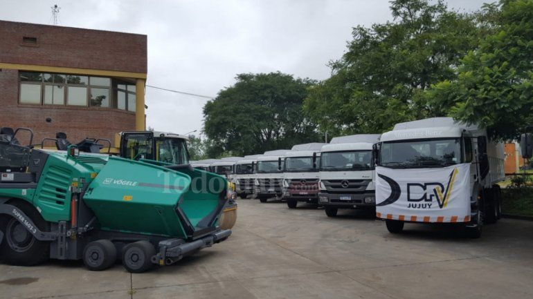 Inversión en Vialidad: entregaron equipos valuados en 45 millones de pesos