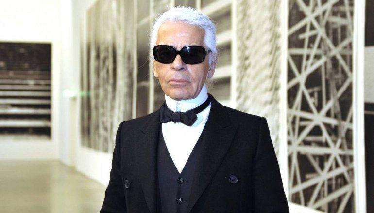 Falleció el diseñador de la casa Chanel, Karl Lagerfeld a los 85 años