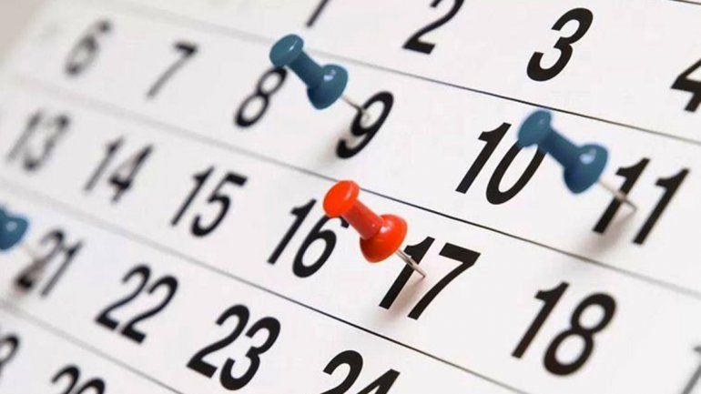 Para hacer planes, mirá el calendario de días no laborables y fines de semana largos