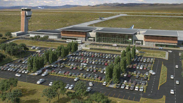 En marzo entregarían la primera etapa del aeropuerto de Jujuy: nueva terminal, torre de control y estacionamiento