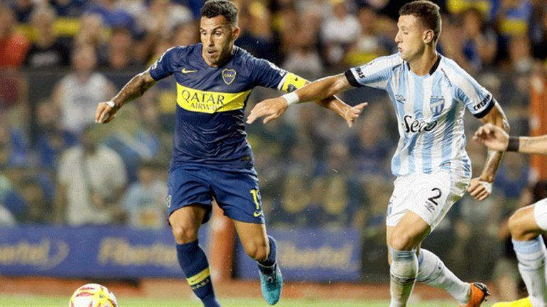 Atlético Tucumán le ganó a Boca en la Bombonera