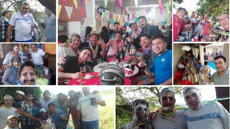 ¡Feliz Jueves de Compadres! Mirá las fotos de los festejos en Jujuy