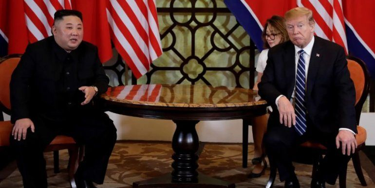 El espacio de dialogo entre Trump y Kim Jong-un terminó de manera abrupta y sin acuerdo