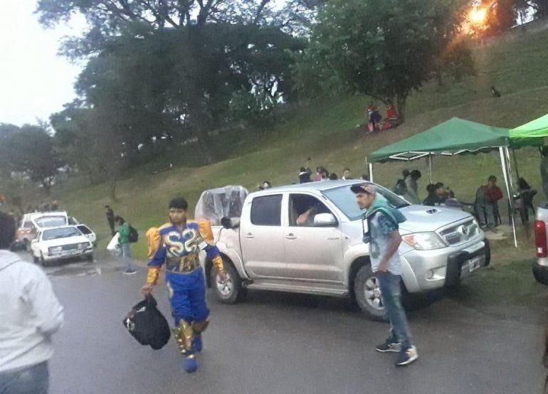 Volvía de los Corsos de Palpalá y lo asaltaron para robarle plata y el traje de caporal