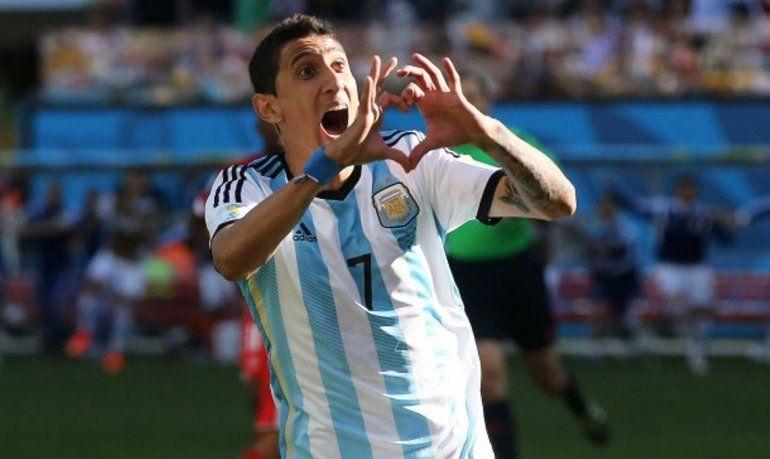 ¿Ángel Di María y un guiño para la Selección Argentina?