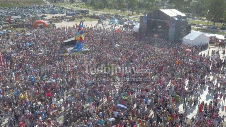 Hoy el diablo del carnaval se desentierra en el Carnavalódromo