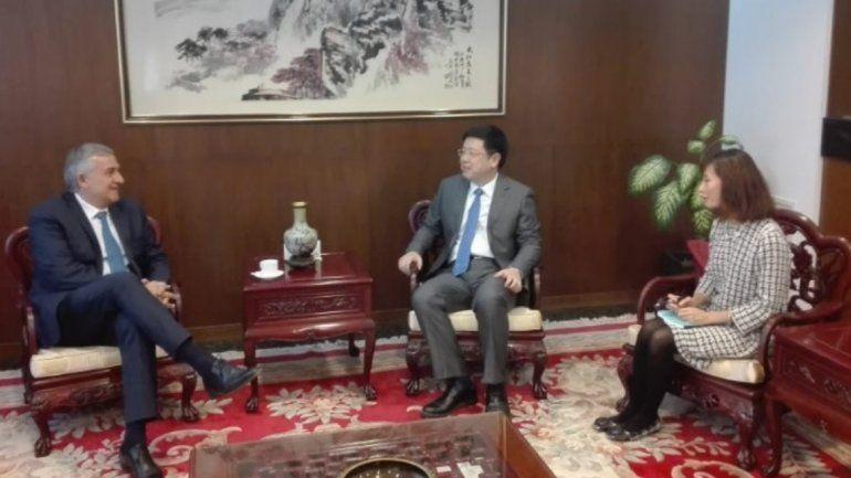El gobernador Gerardo Morales se reunió con el nuevo embajador de China