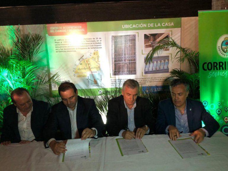 Jujuy firmó un convenio para una nueva ruta turística con Corrientes y Mendoza