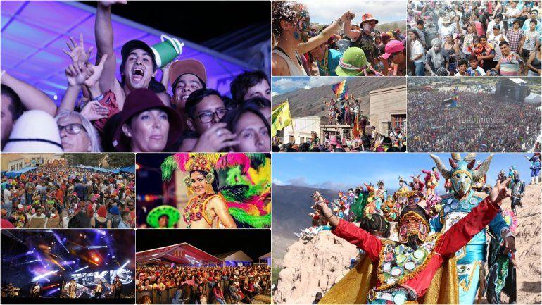 ¡Jujuy explotó en Carnaval! Las mejores fotos de la fiesta en la provincia