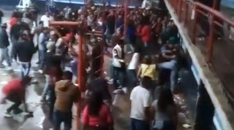 Incidentes y destrozos en el Polideportivo de Abra Pampa durante un baile de carnaval