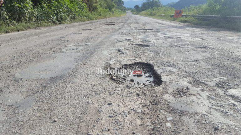 Al fin los cráteres de la Ruta Nacional N°2 tienen sus días contados