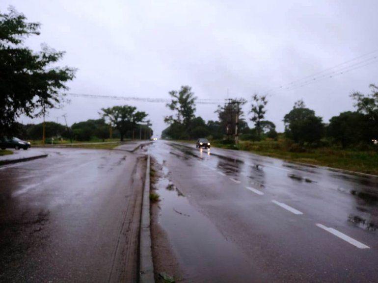 Las rutas se encuentran transitables, piden circular con precaución