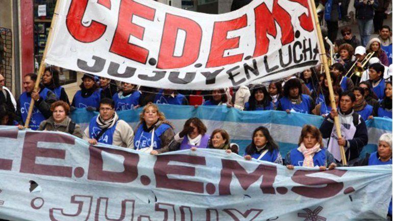Los docentes del CEDEMS cumplen un paro por 24 horas y movilizarán al centro