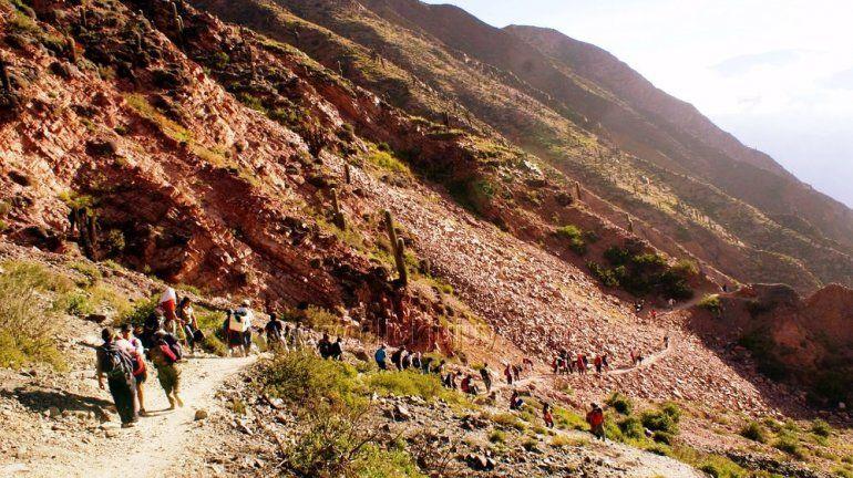 Punta Corral: Purmamarca le dice no al cierre del ascenso por el paraje Tunalito