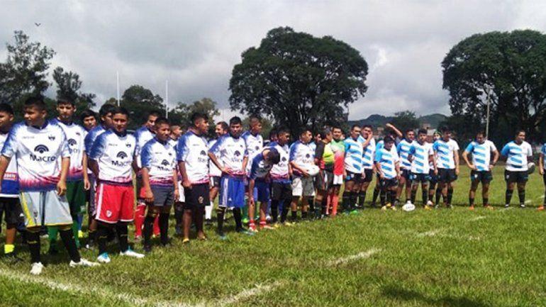 Inauguraron cancha de rugby en la Unidad Penal de Alto Comedero