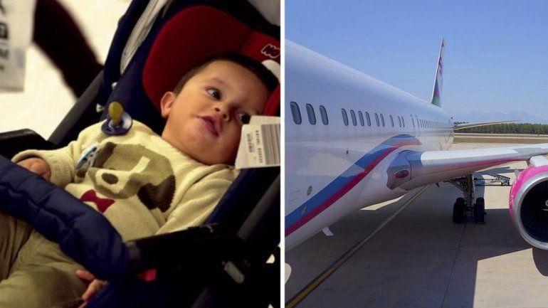 Una mamá olvidó a su bebé en el aeropuerto y se dio cuenta en pleno vuelo. Obligó al piloto a aterrizar