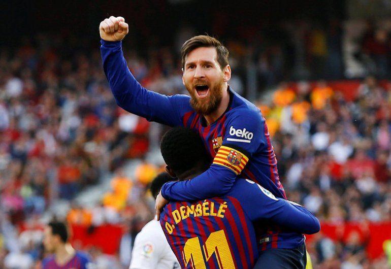 Lluvia de goles: el Barcelona le ganó a Lyon con un Lionel Messi implacable