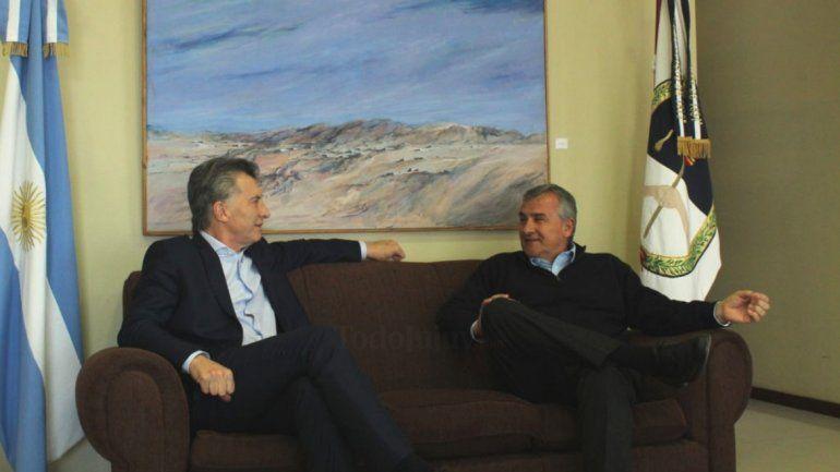 Gerardo Morales se reúne con Mauricio Macri y María Eugenia Vidal