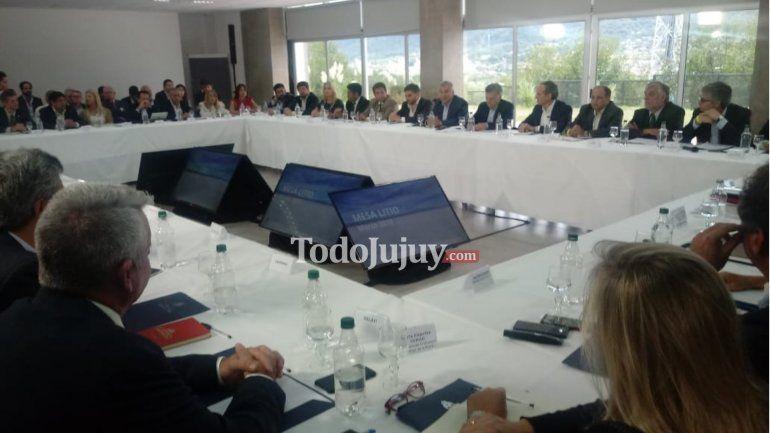 Mauricio Macri y Gerardo Morales encabezaron la reunión de la Mesa de Competitividad del Litio