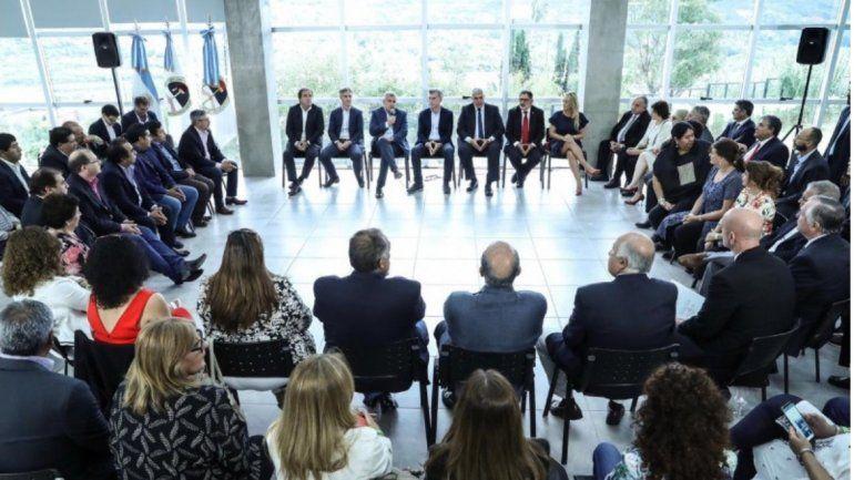 Macri se reunió con el gabinete provincial de Gerardo Morales