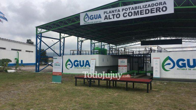 Se inauguró la nueva planta potabilizadora para Alto Comedero