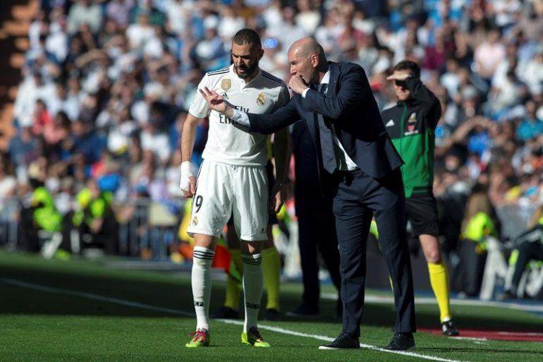 Zidane en el Real