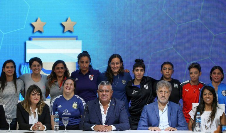 Cambio histórico: el fútbol femenino será profesional