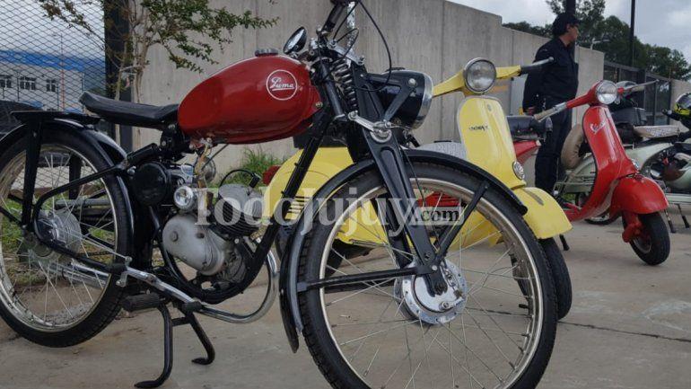 Joyas clásicas del motociclismo se lucieron en Jujuy