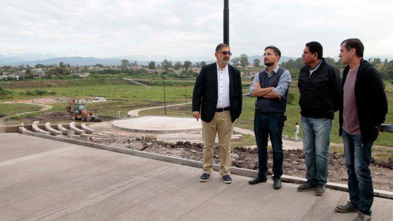 El parque General Belgrano de Alto Comedero se inauguraría en mayo