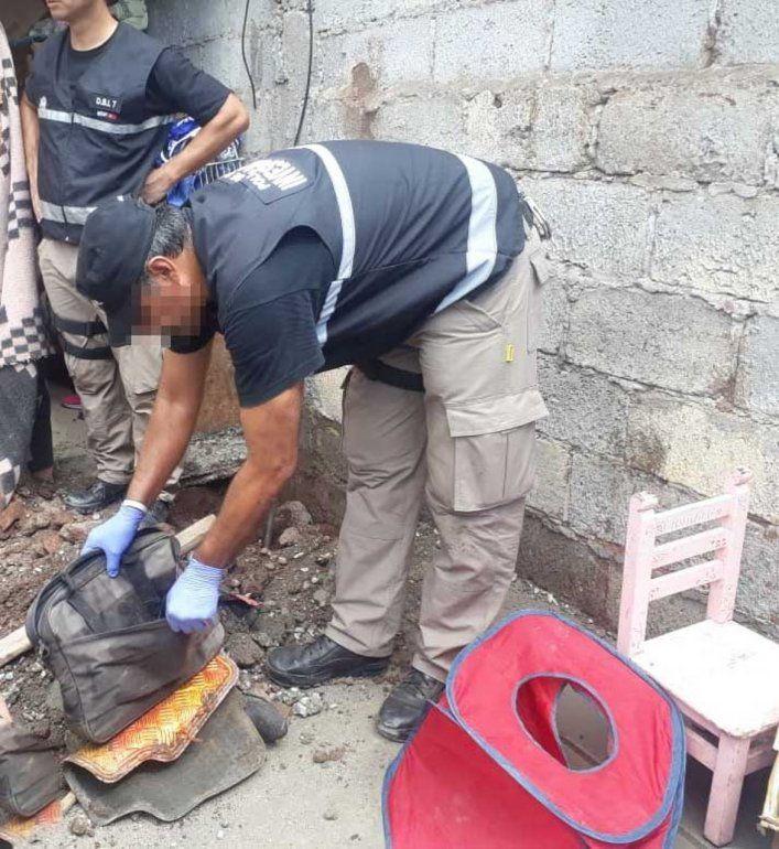 Güemes: Robó $4 millones en su trabajo y los enterró en el patio de su casa
