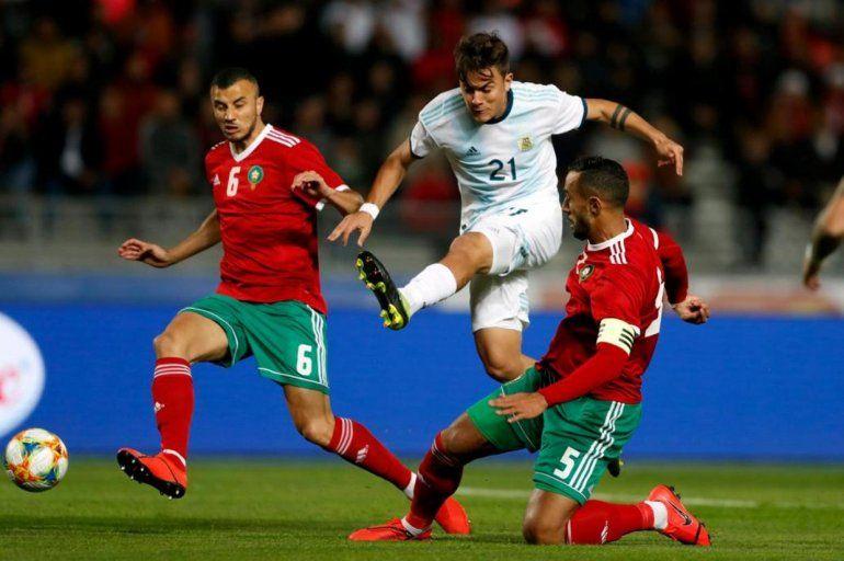 En un partido aburridísimo, Argentina le ganó con lo justo a Marruecos
