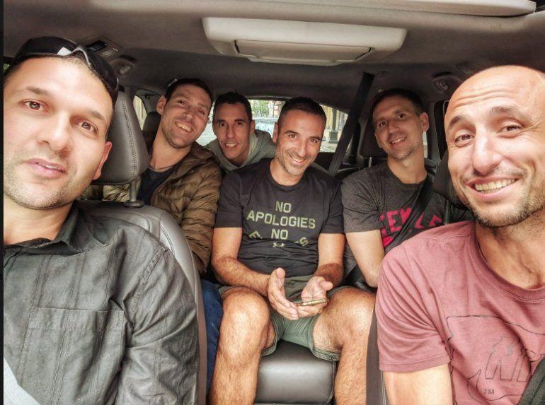 El twitter de Mascherano para Manu Ginóbili y sus amigos