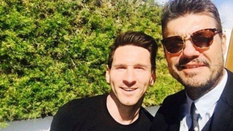 Marcelo Tinelli apoyó a Messi y de paso le pegó a Macri